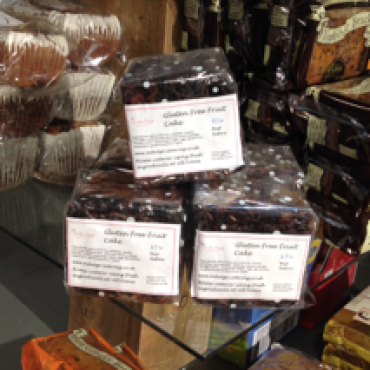 Gluten Free Fruit Cakes available at The Hollies, Lower Stretton