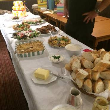 Buffet for 50th Wedding Anniversary Celebrations