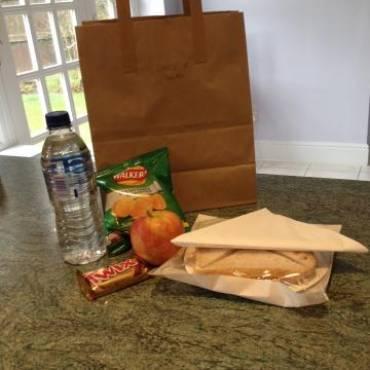Buffet Lunch in a Bag