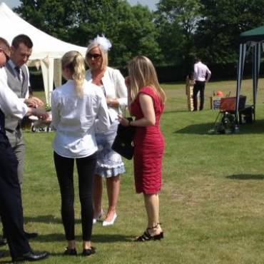 Delicious food at a Country Wedding on 4th June for 120 Guests by Indulge Catering