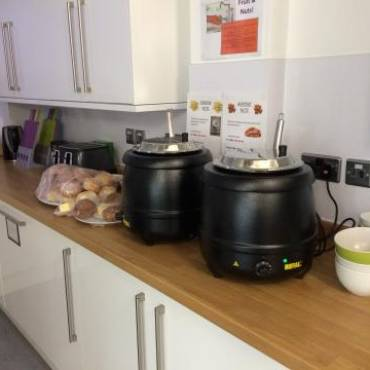 Hot Soup Lunches delivered to your office