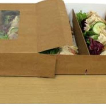 Going Eco-Friendly with Our New Biodegradable Sandwich Platter!